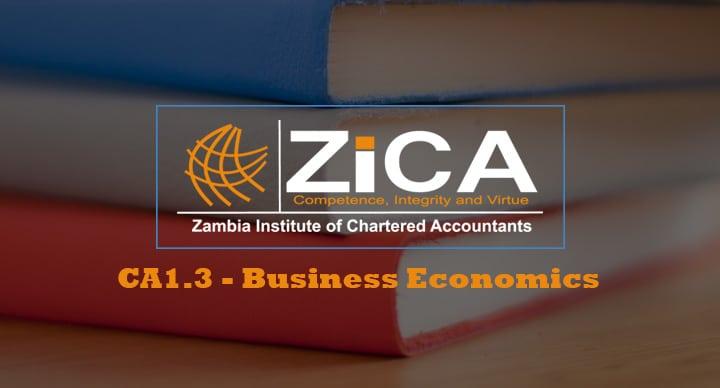 CA1.3 - Business Economics