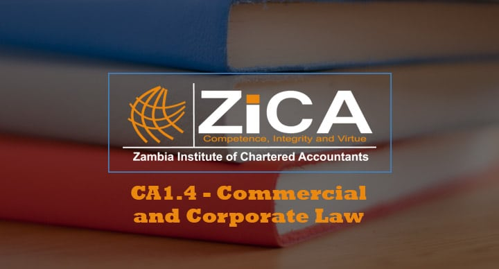 CA1.4 - Commercial and Corporate Law