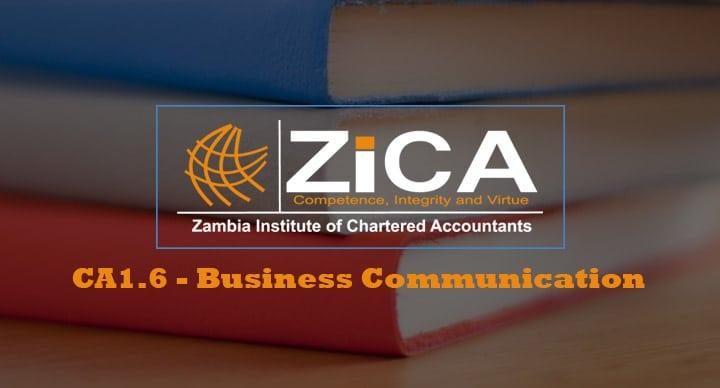 CA1.6 - Business Communication