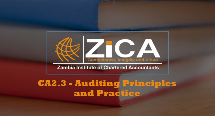 CA2.3 - Auditing Principles and Practice