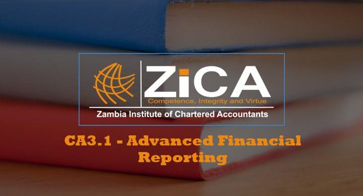 CA3.1 - Advanced Financial Reporting