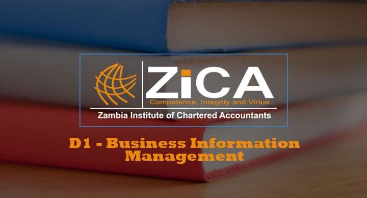 D1 - Business Information Management