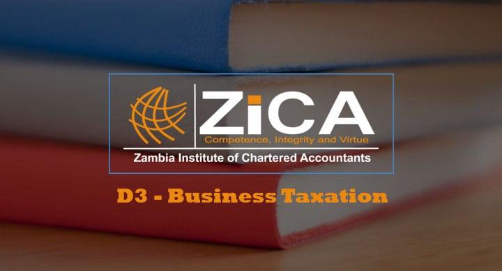 D3 - Business Taxation