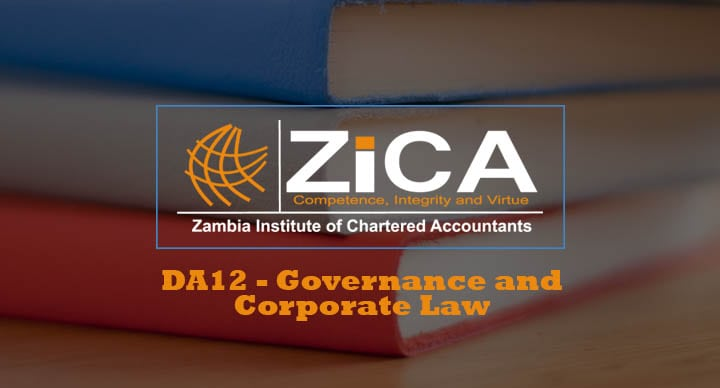 DA12-Governance and Corporate Law