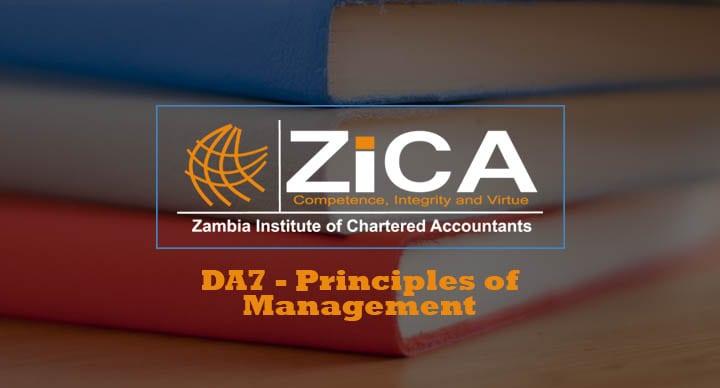 DA7-Principles of Management