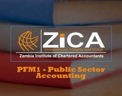PFM1 - Public Sector Accounting