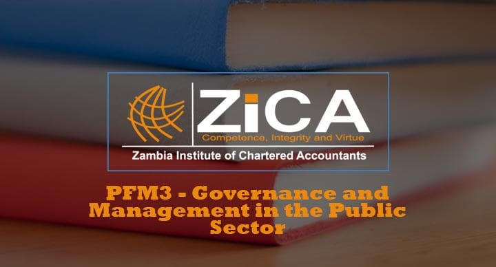 PFM3 - Governance and Management in the Public Sector