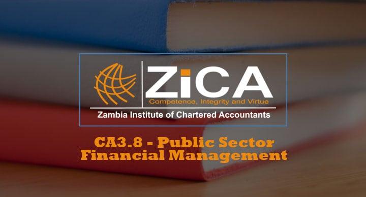 CA3.8 - Public Sector Financial Management