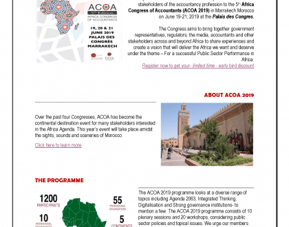 ACOA 2019 - The 5th Africa Congress for Accountants