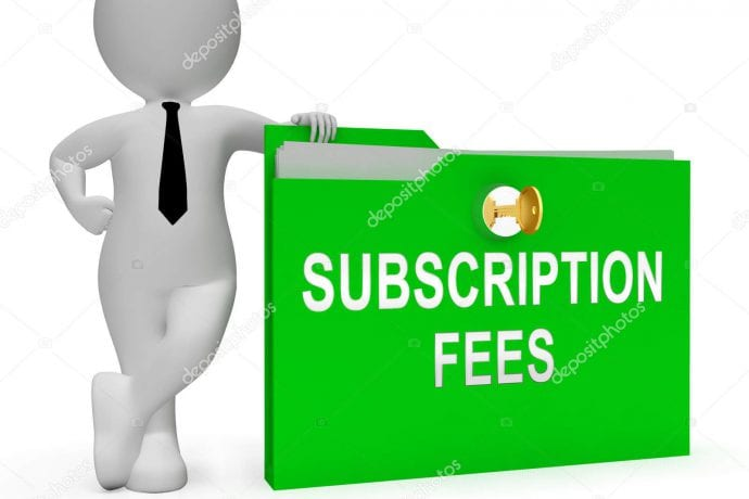 NOTICE - FINAL REMINDER: PAYMENT OF 2019 ANNUAL SUBSCRIPTION FEE