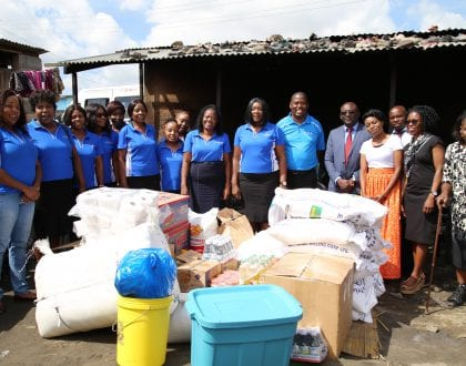 ZICA WOMEN DONATE ASSORTED ITEMS TO THERESSA HOPE FOUNDATION