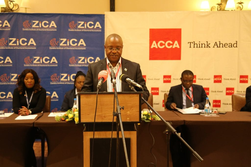 Opening Remarks By ZiCA President at the 16th, Annual Business Conference