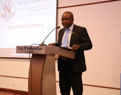 WELCOME REMARKS BY THE ZICA CEO DURING THE 3RD FZWA SYMPOSIUM
