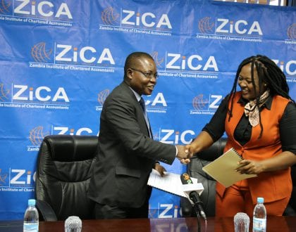 ZICA SIGNS A MEMORANDUM OF UNDERSTANDING WITH THE FIC