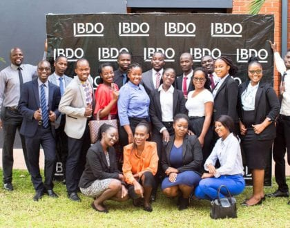 BDO ZAMBIA  RECRUITS 16 CA ZAMBIA STUDENTS