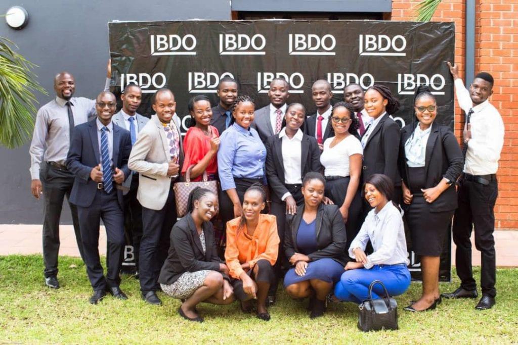 BDO ZAMBIA  RECRUITS 16 CA ZAMBIA STUDENTS