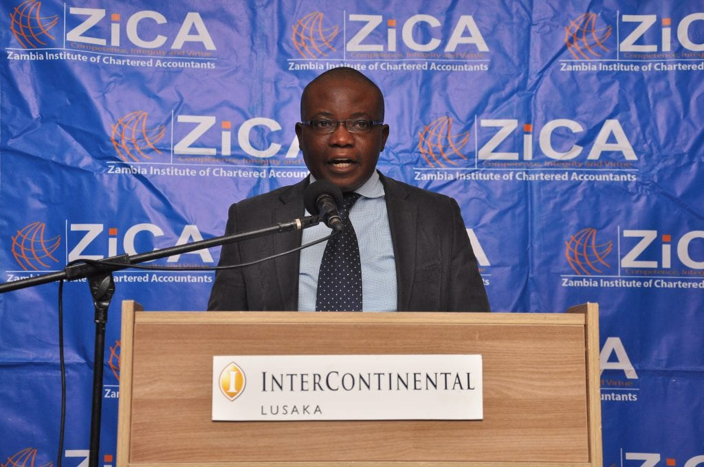 WELCOME REMARKS BY THE SECRETARY AND CHIEF EXECUTIVE AT THE TAX UPDATE LUSAKA