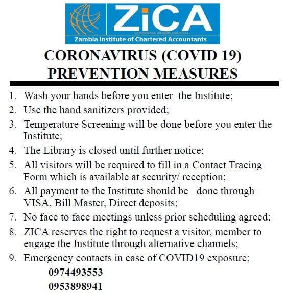 CRISIS MANAGEMENT – CORONA VIRUS (COVID19)
