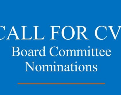 GENERAL CALL FOR CVS FOR POSSIBLE NOMINATION TO BOARDS AND COMMITTEES