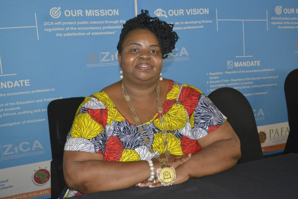 Ms CECILIA ZIMBA BECOMES ZICA's  FIRST FEMALE PRESIDENT