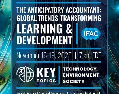 Upcoming IFAC Virtual Global Summit: The Anticipatory Accountant