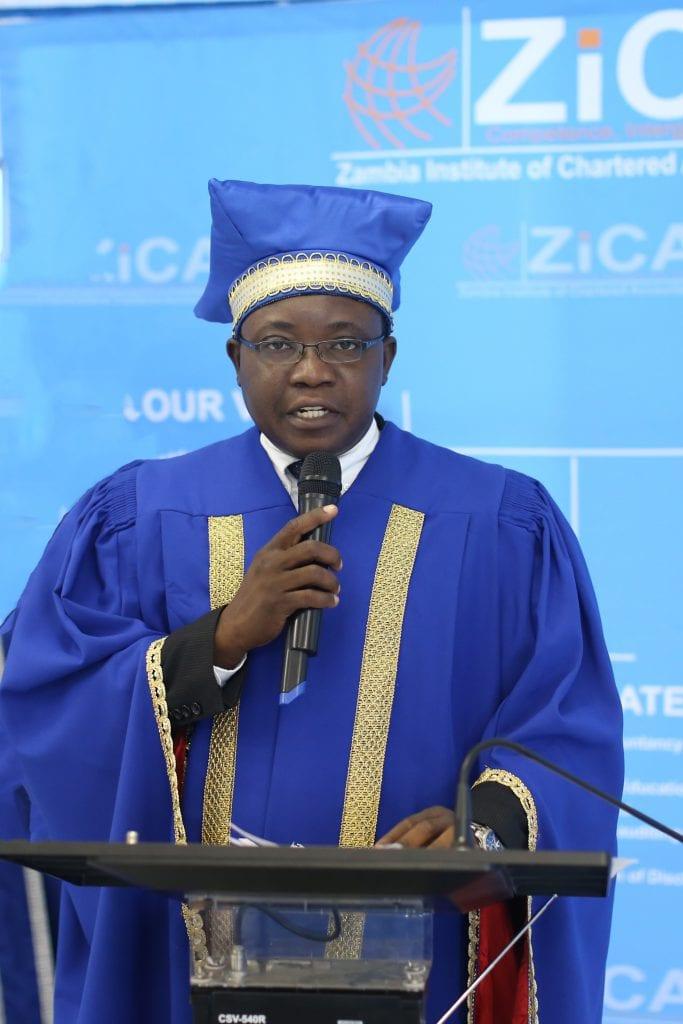 GRADUATION WELCOME REMARKS BY THE ZICA CEO MR. BONNA KASHINGA