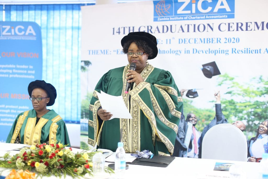 ZICA PRESIDENT'S SPEECH AT THE 14TH GRADUATION CEREMONY