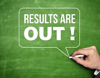 RELEASE OF THE DECEMBER 2020 EXAMINATION RESULTS