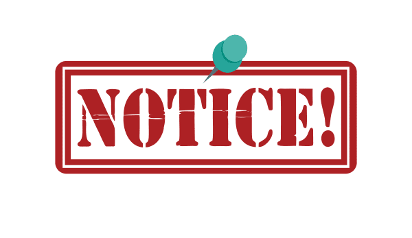 NOTICE: TAX RATES FOR THE MARCH 2021 EXAMINATIONS