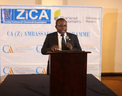 ZICA CEO's Welcome Remarks at the CAZAP Launch