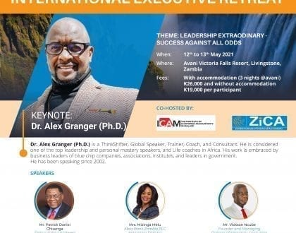 Invitation to Attend the International Executive Retreat