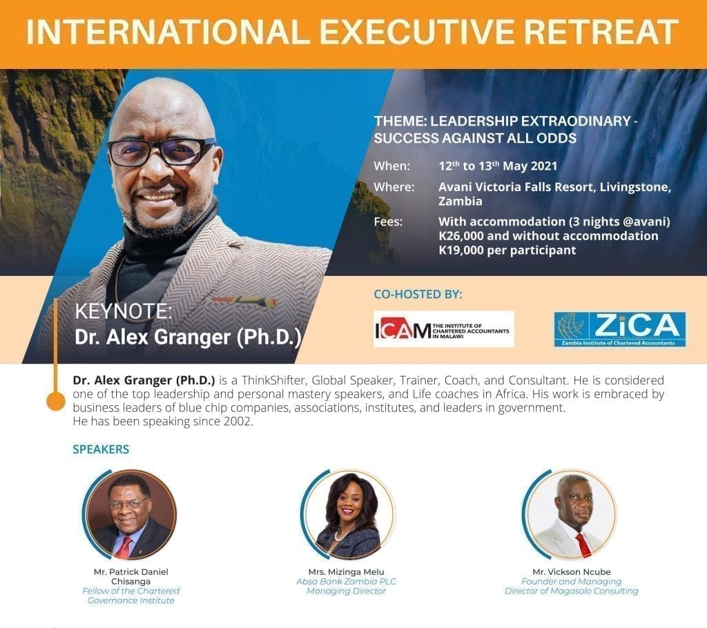 Invitation to Attend the International Executive Retreat