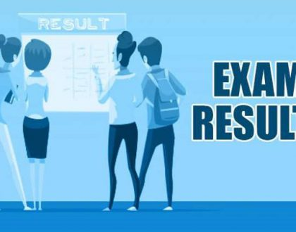 PUBLICATION OF THE JUNE 2021 EXAMINATION RESULTS