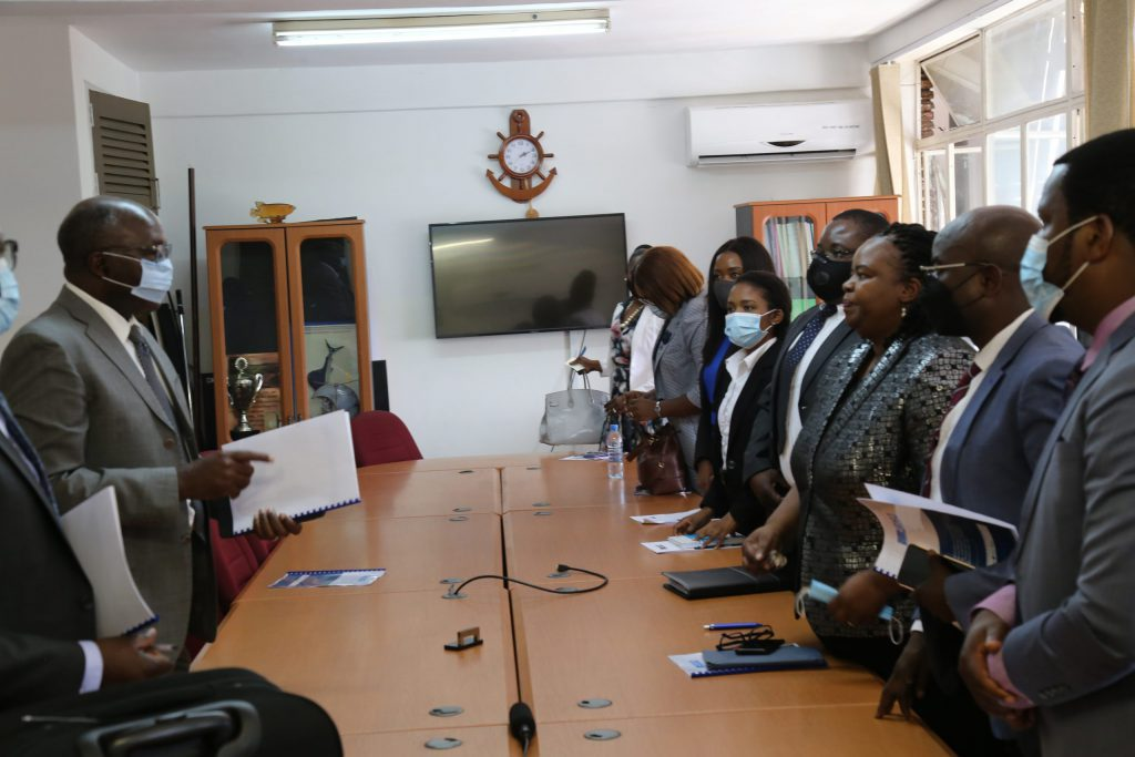 ZICA meeting with the Minister of Finance